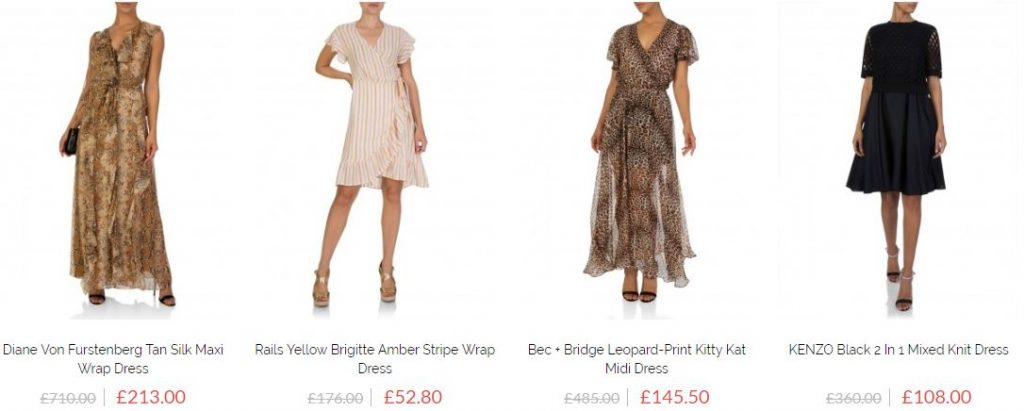 Designer dresses on sale uk