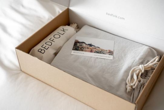 Luxury organic bedding with free delivery