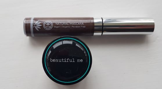 Review of all natural Beautiful Me Mineral Eye Shadow in brown