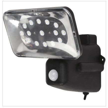 which is the best solar powered flood light for a caravan