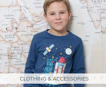 Shop ethical and all natural clothing for youngsters
