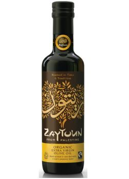 Fair trade organic Palestinian cold pressed olive oil