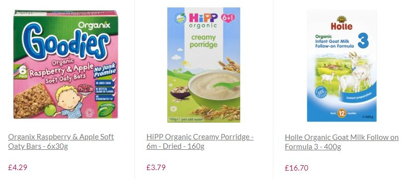 you can buy ethical and organic baby food here