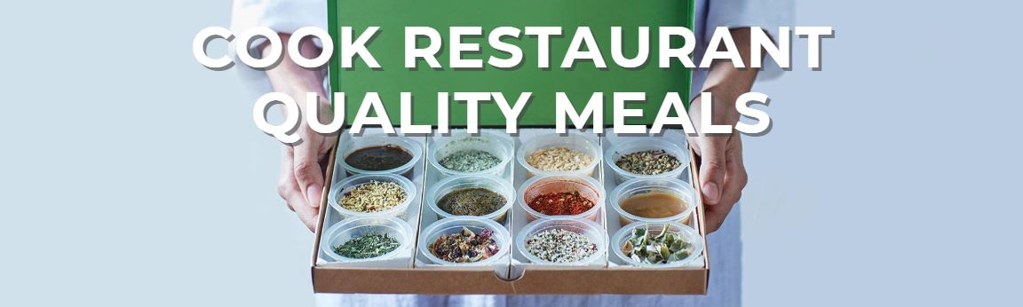 Cook restaurant quality meals at home