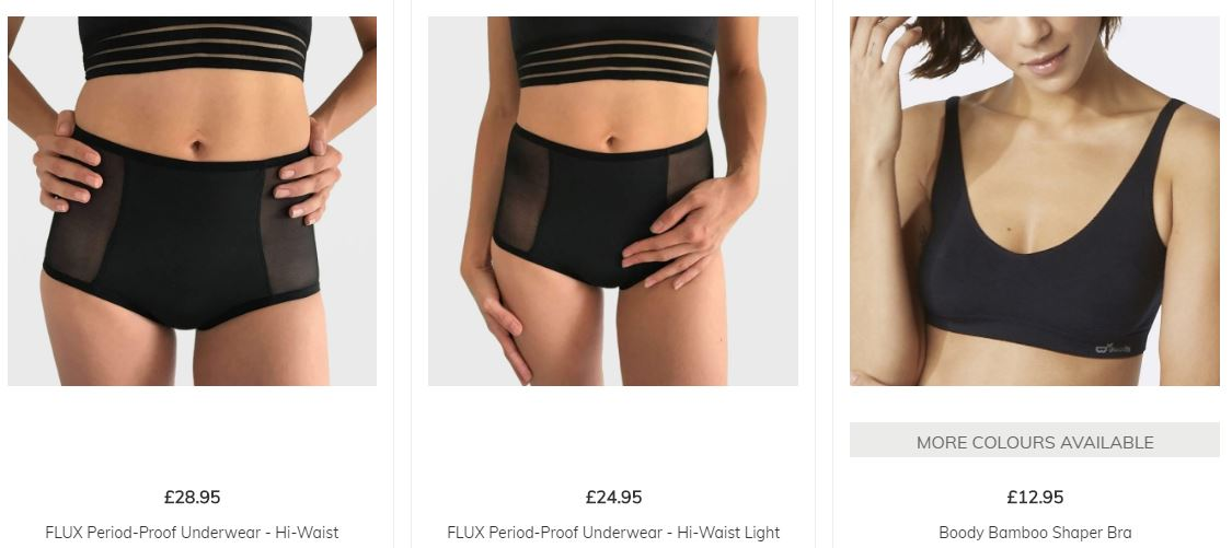 SHOP ETHICAL UNDERWEAR MADE FROM BAMBOO