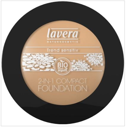 2-in-1 Vegan compact foundation