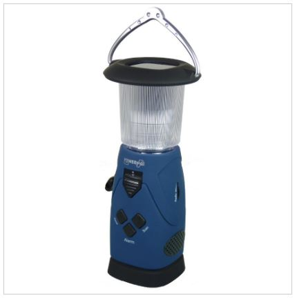 Solar camping lamp and charger